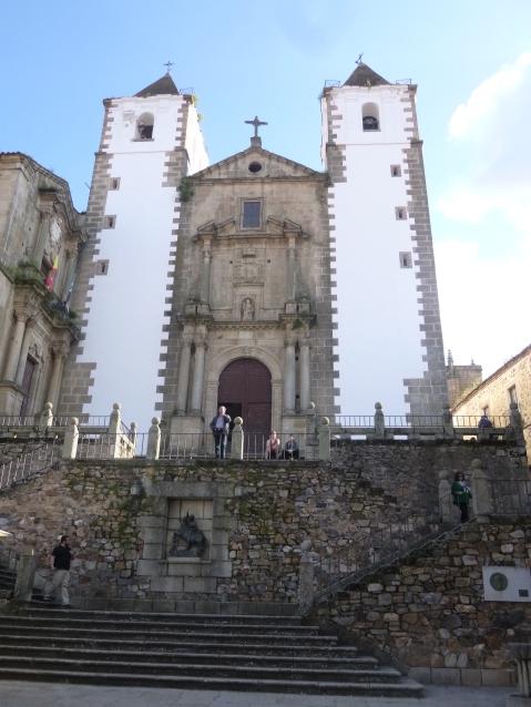 Iglesi San Francisco Javier Cáceres