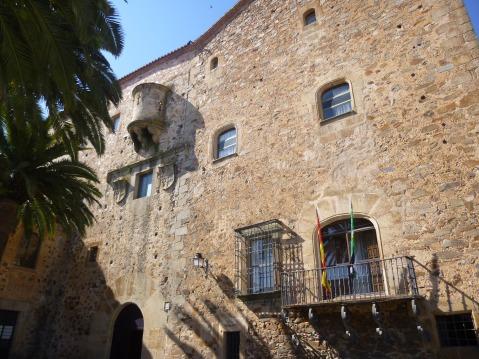 Palacio La Generala Cáceres